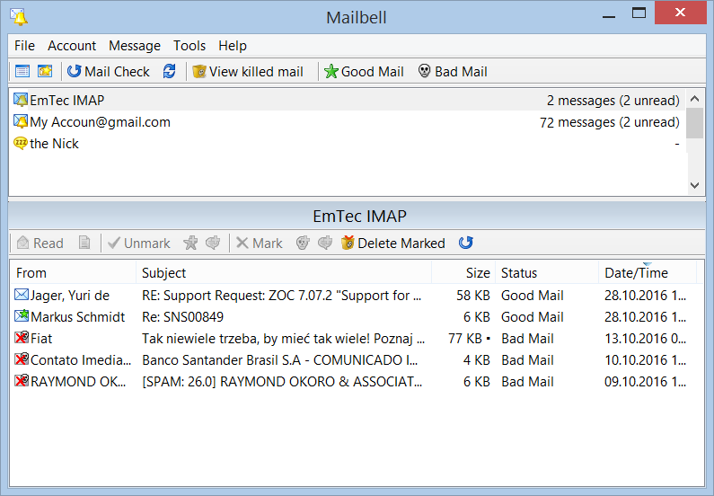 mailbell Screenshot